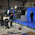 First day of filming in the newly created Billywood Studio, May 22nd 2010.
