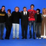 A curtain call with Jane Tucker (and Freddy Marks) on the last day of principal filming, August 27th 2010.