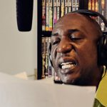 Voice recording with Colin McFarlane, July 2012.